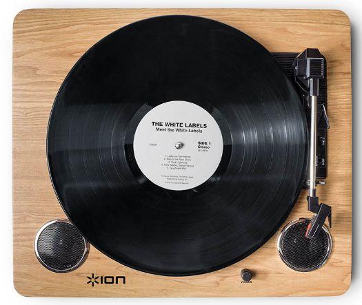 ION AUDIO Archive LP( IA-TTS-012)オールインワン・ターテーブル USB端子、スピーカー搭載