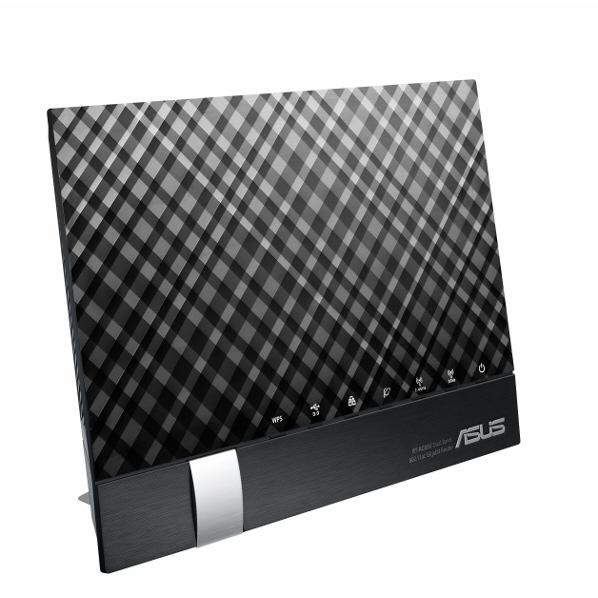 ASUSTEK RT-AC65U IEEE802.11a/b/g/n/ac対応 1300+600Mbpアンテナ内蔵型無線ルーター ブラック [RTAC65U]