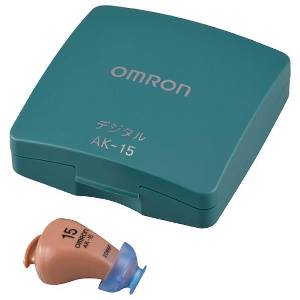 オムロン AK-15 デジタル式補聴器 イヤメイトデジタル [AK15]
