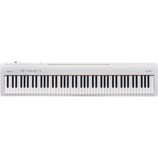 ローランド FP-30-WH 電子ピアノ ホワイト [FP30WH]