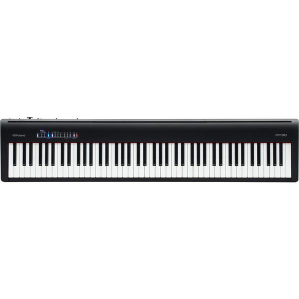 ローランド FP-30-BK 電子ピアノ ブラック [FP30BK]