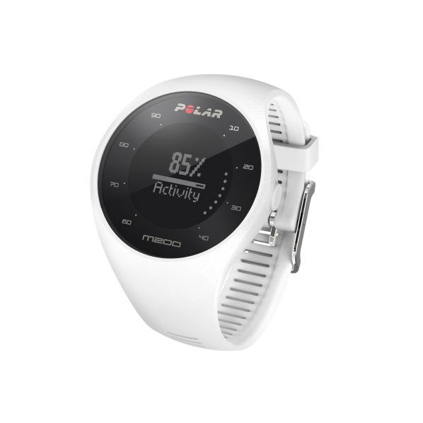 POLAR GPSランニングウォッチ(M/Lサイズ) M200 ホワイト 90067740