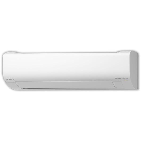 (商品お届けのみ)日立 10畳向け 自動お掃除付き 冷暖房インバーターエアコン KuaL 凍結洗浄 白くまくん スターホワイト RASWM28KE8WS