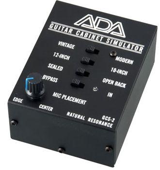 (お取り寄せ)ADA GCS-2(GCS2)ギター・キャビネット・シミュレーター