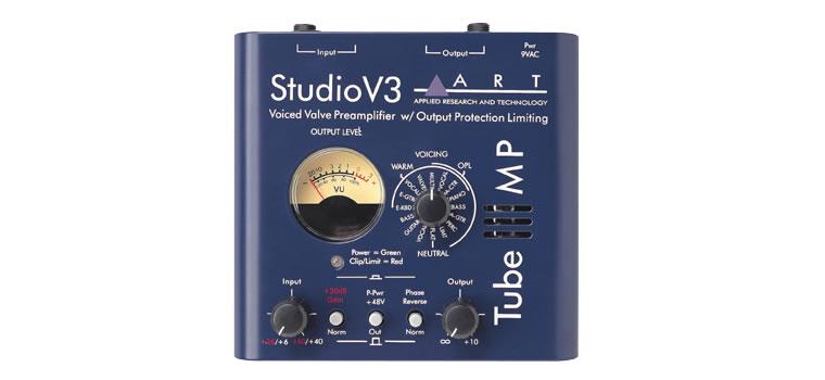 ART Tube MP Studio V3 V3回路搭載チューブ・マイクプリアンプ