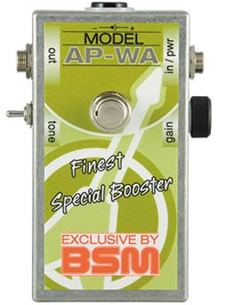 (お取り寄せ)BSM AP-WA ミディアムゲイン・トレブルブースター ウィッシュボーン・アッシュアンディ・パウエルの音を再現