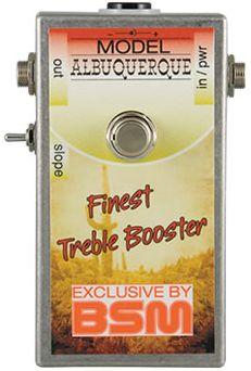(お取り寄せ)BSM Albuquerque ハイゲイン・トレブルブースター バッド・カンパニー アルバカーキライブの音を再現