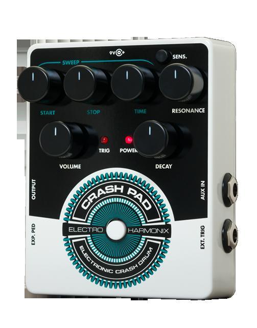 (お取り寄せ)electro-harmonix エレクトロハーモニクス CRASH PAD Analog Drum Synth(正規品。保証書付属)