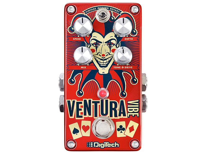 (お取り寄せ)DigiTech Ventura Vibe デジテック ビブラート/ロータリー・ペダル(正規国内品)(保証書付属)