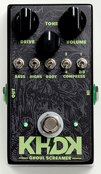 (お取り寄せ)KHDKエレクトロニクス Ghoul Screamer カーク・ハメット オーバードライブ
