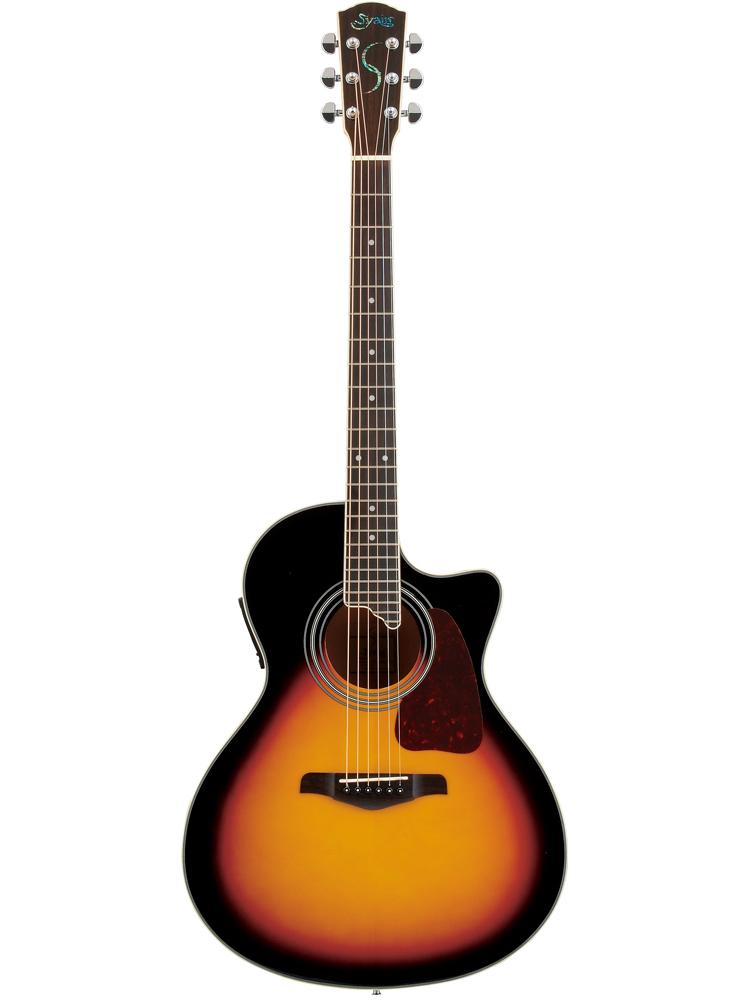 S.YAIRI YE-4M 3TS Sヤイリ エレアコ(ギター)