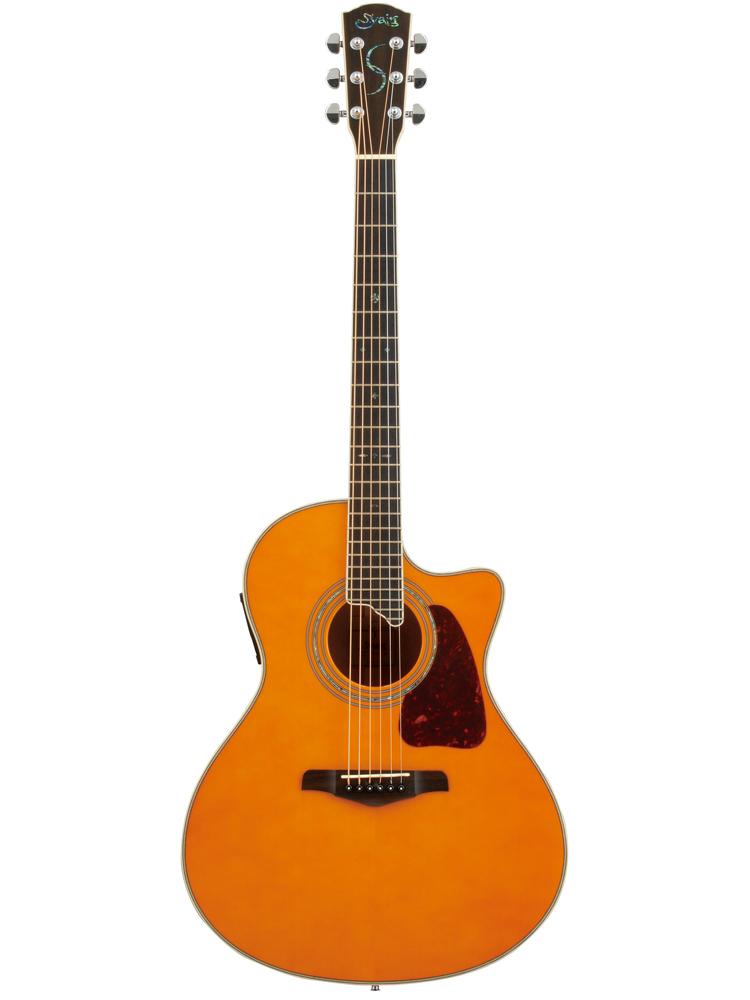 【送料無料】 S.YAIRI YE-5M AM Sヤイリ エレアコ(ギター)Amber Natural