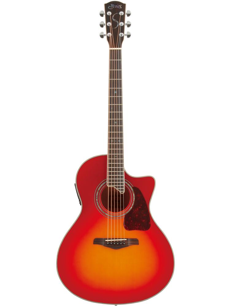 S.YAIRI YE-5M CB Cherryburst Sヤイリ エレアコ(ギター)