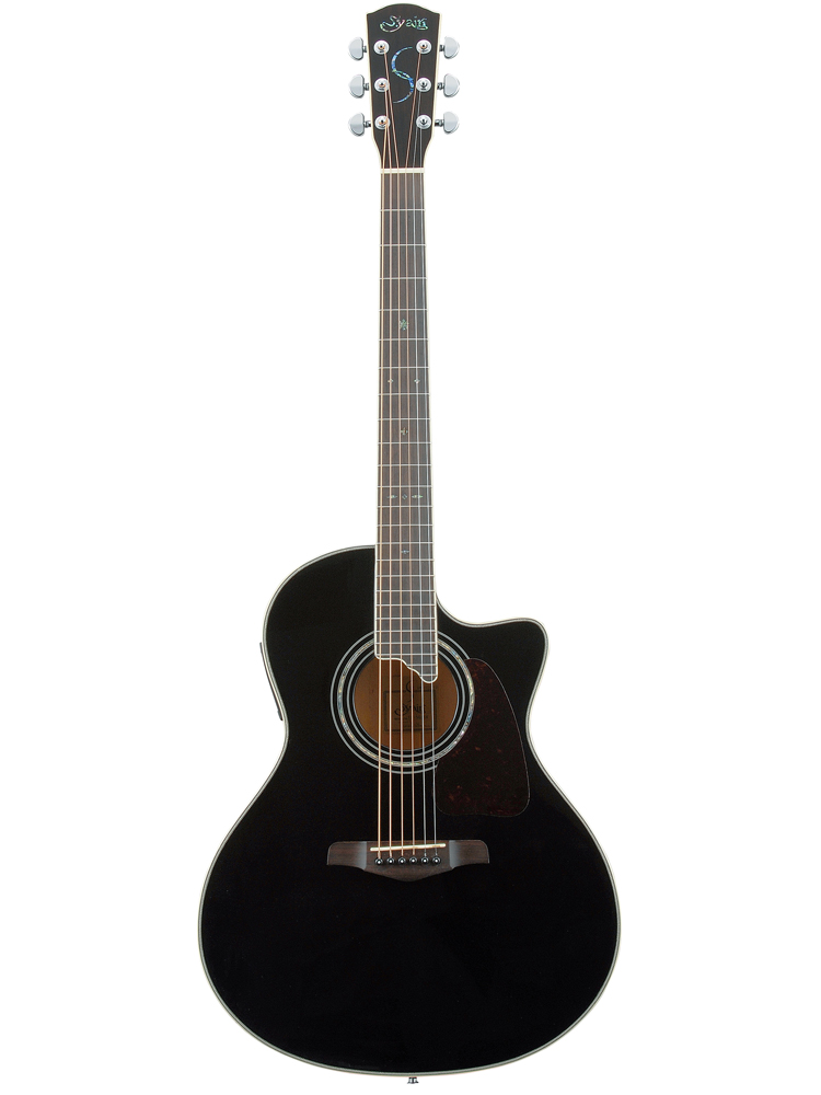 (お取り寄せ)S.YAIRI YE-5M BK Black Sヤイリ エレアコ(ギター)