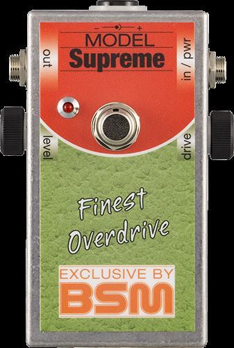 BSM Supreme リッチー・ブラックモアのシグネイチャー・サウンドを再現するオーバードライブ