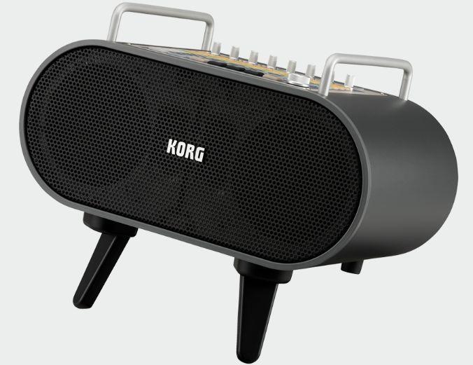 (お取り寄せ)KORG STAGEMAN 80 多機能ポータブルPAアンプ 80W大音量ステレオ・システム