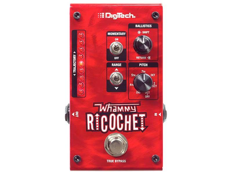 DigiTech Whammy Ricochet(ワーミー・リコシェ) デジテック ピッチシフト・ペダル(正規国内品)(保証書付属)
