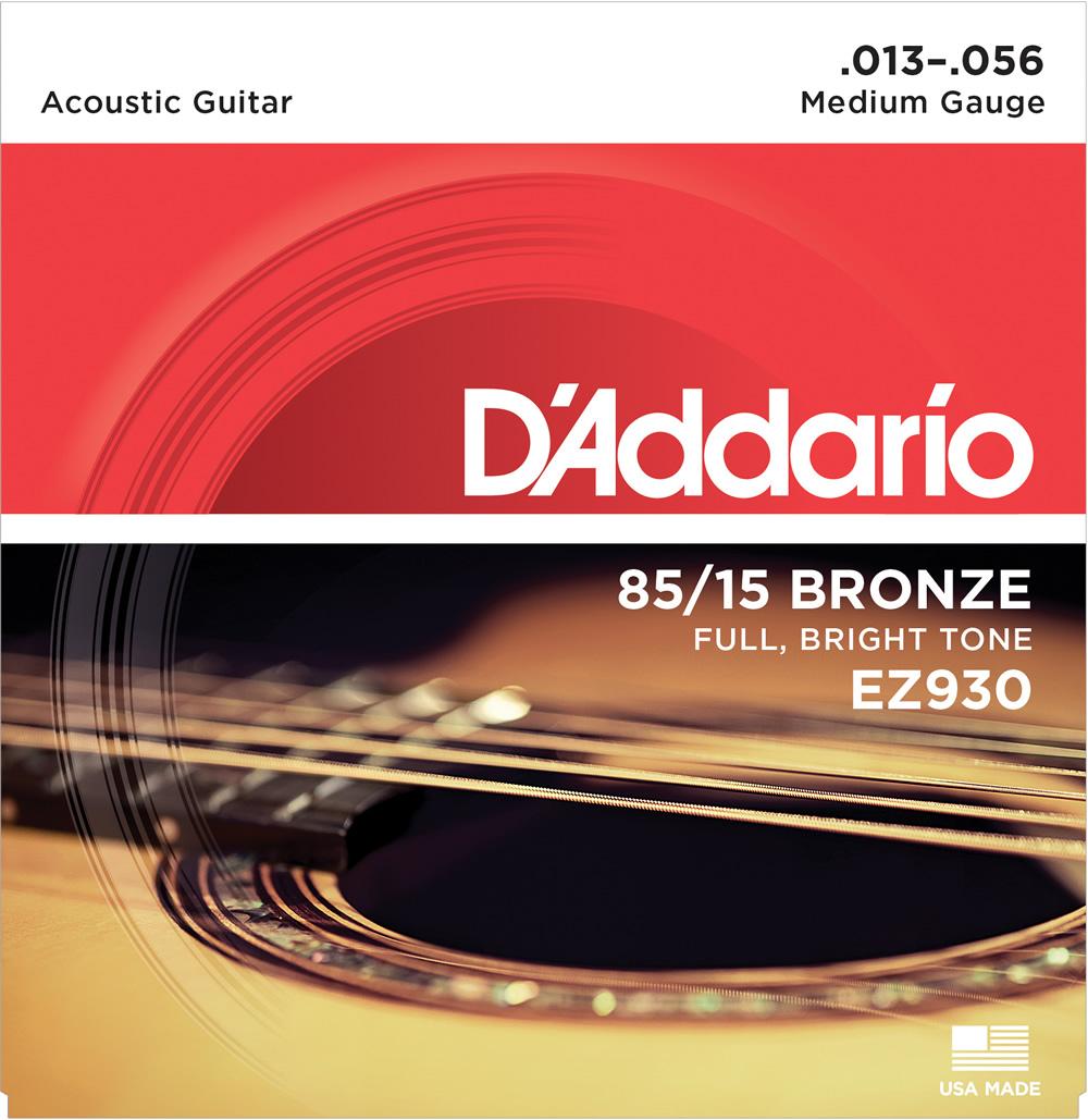 期間限定 D'Addario EZ930 アコースティックギター弦 ダダリオ 中古