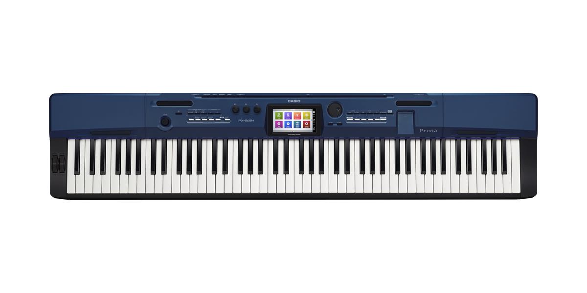 (お取り寄せ)CASIO カシオ 電子ピアノ PX-560MBE ディープブルー調