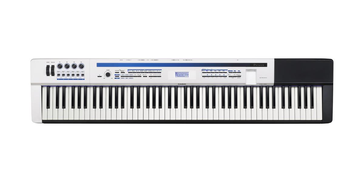 (お取り寄せ)CASIO カシオ 電子ピアノ PX-5SWE パールホワイト調 ステージピアノ