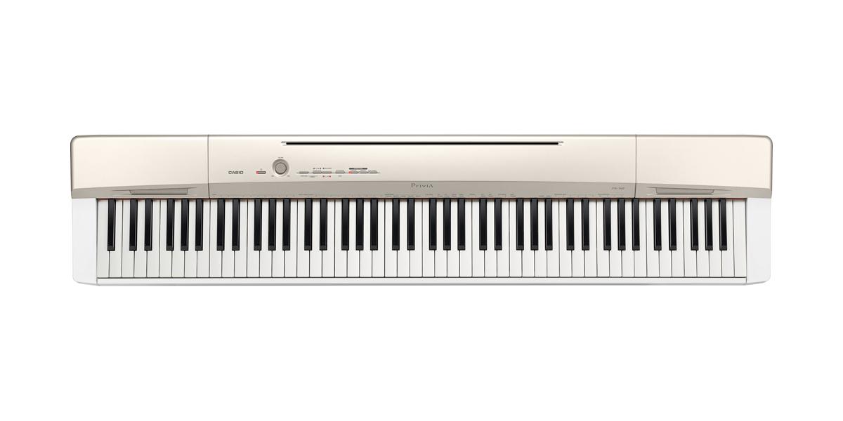 (お取り寄せ)CASIO カシオ 電子ピアノ PX-160GD シャンパンゴールド調 *スタンド別売り PX160GD