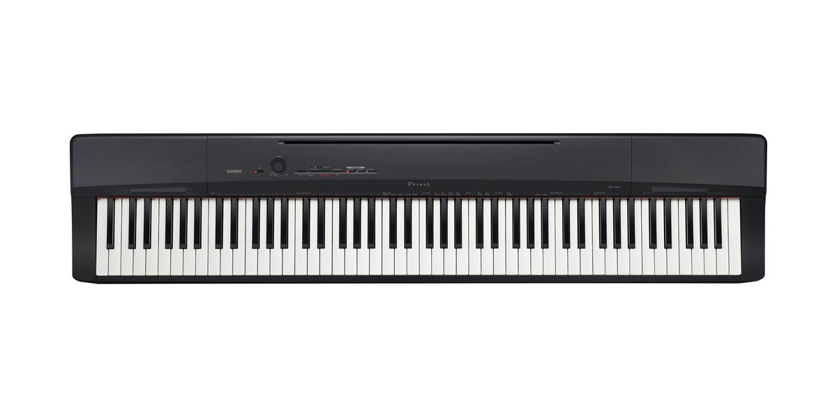 (お取り寄せ)CASIO カシオ 電子ピアノ PX-160BK ソリッドブラック調 *スタンド別売り PX160BK