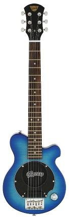 Pignose PGG-200FM SBL(See-through Blue) ピグノース アンプ内蔵ミニギター