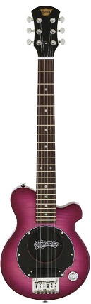 Pignose PGG-200FM SPP(See-through Purple) ピグノース アンプ内蔵ミニギター