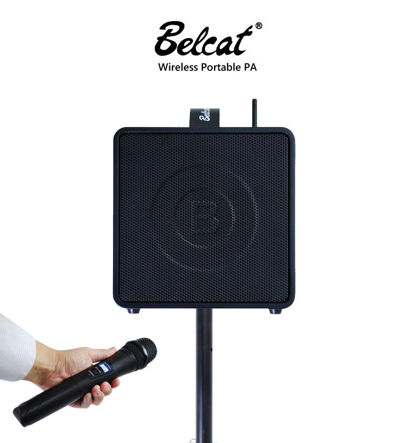 Belcat BWPA-40W/9-28(807.125MHZ,809.500MHZ) ベルキャット ワイヤレス ポータブル PAアンプ BWPA-40W(出力40W・2チャンネル)