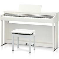 (配達標準設置無料)KAWAI CN27 A カワイ 電子ピアノ(プレミアムホワイトメープル調仕上げ) 高低自在椅子&ヘッドホン付 デジタルピアノ CN27-A