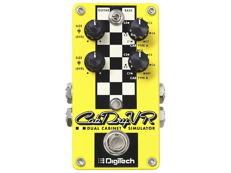 DigiTechCab Dry VR デジテック デュアル・キャビネット・シュミレーター(正規国内品)(保証書付属)
