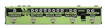 (お取り寄せ)VALETON Dapper Bass Effects Strip ダッパーベース マルチエフェクター WIRED MUSIC