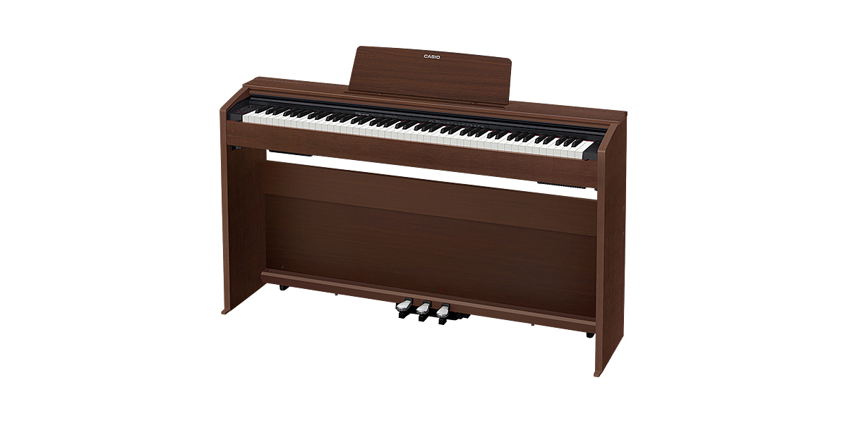 (配達無料)CASIO PX-870BN カシオ デジタルピアノ(プリヴィア Privia) 電子ピアノ PX870BN オークウッド調 ※*お届けは玄関前までになります。