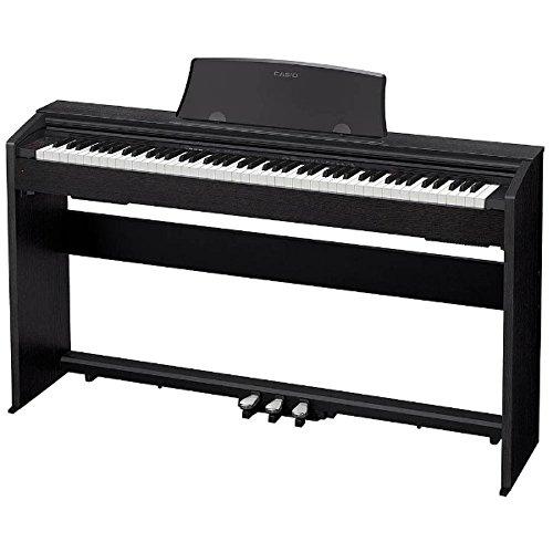 (お取り寄せ)CASIO PX-770BK カシオ デジタルピアノ(プリヴィア Privia) 電子ピアノ PX770BK ブラックウッド調