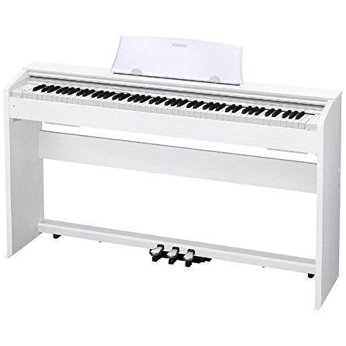 (お取り寄せ)CASIO PX-770WE カシオ デジタルピアノ(プリヴィア Privia) 電子ピアノ PX770WE ホワイトウッド調