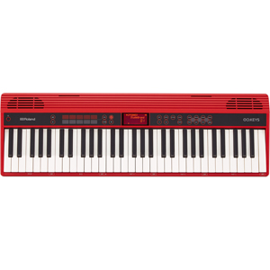 (お取り寄せ)ローランド 電子キーボード GO:KEYS レッド GO61K