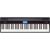 (お取り寄せ)ローランド GO:PIANO 電子キーボード GO:PIANO ブラック GO61P ブラック GO61P, edge home:4f8e71a0 --- vidaperpetua.com.br