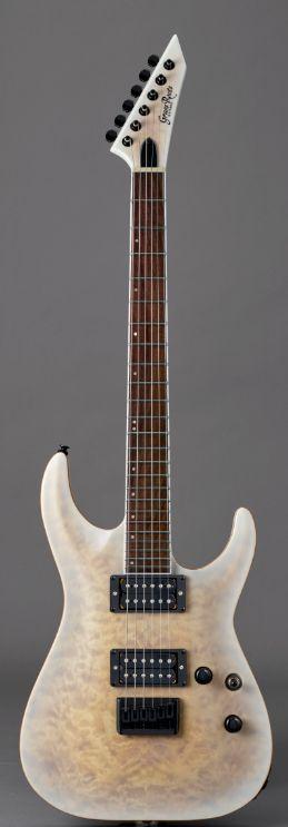 GrassRoots G-HR-55FX See Thru White Satinグラスルーツ エレキギター *ソフトケース付き