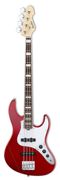 Grass Roots G-AM-55MS/R CAR Candy Apple Redグラスルーツ エレキベース
