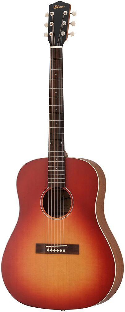 Greco GAJ-30P CSB(Cherry Sunburst)グレコ ピックアップ付きアコースティック・ギター