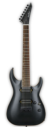 GrassRoots G-HR-60FX7 Black Satinグラスルーツ 7弦エレキギター*ソフトケース付きホライズン7弦