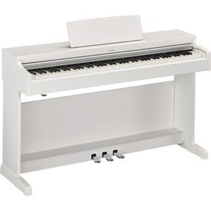 (お取り寄せ)YAMAHA YDP-163WH(YDP163WH)ホワイトウッド調 ヤマハ デジタルピアノ/電子ピアノ*配達設置費込