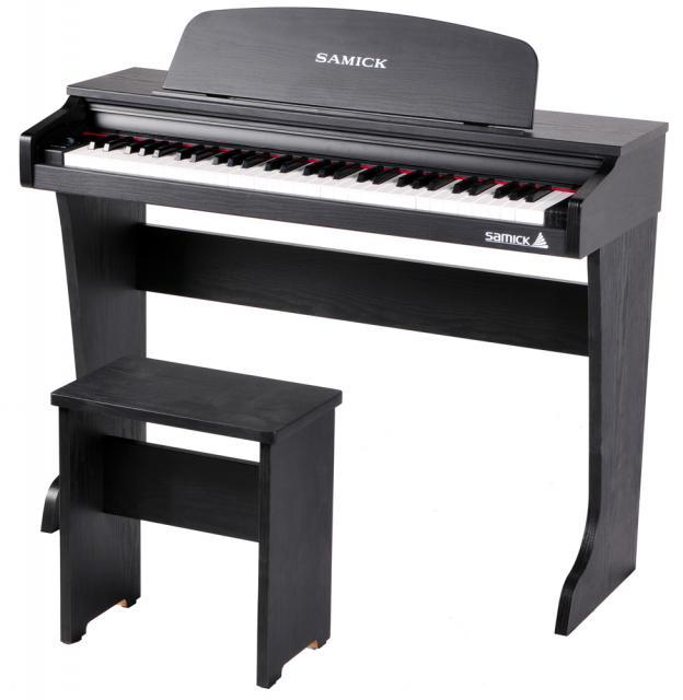 (お取り寄せ)SAMICK デジタルピアノ 61 KID-O2 / Black ブラック ※お届けのみ