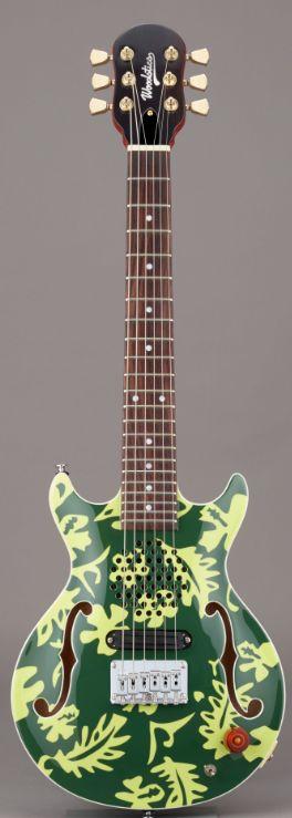 (お取り寄せ)Woodstics WS-MINI ALOHA DEEP GREEN & GREEN ALOHA横山健プロデュース ミニギター