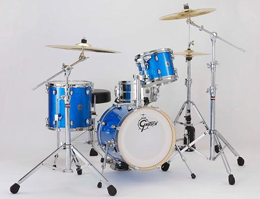 (お取り寄せ)Gretsch CC1-S463 Blue SparkleCatalina Club Street BLSP (ブルー・スパークル)グレッチ ドラムセット ※スネア・ハードウェア等別売