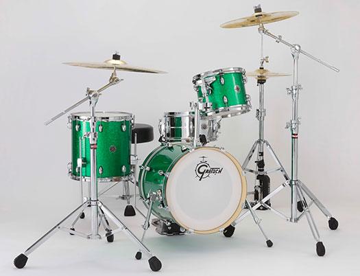 (お取り寄せ)Gretsch CC1-S463 Green SparkleCatalina Club Street GSP (グリーン・スパークル)グレッチ ドラムセット ※スネア・ハードウェア等別売