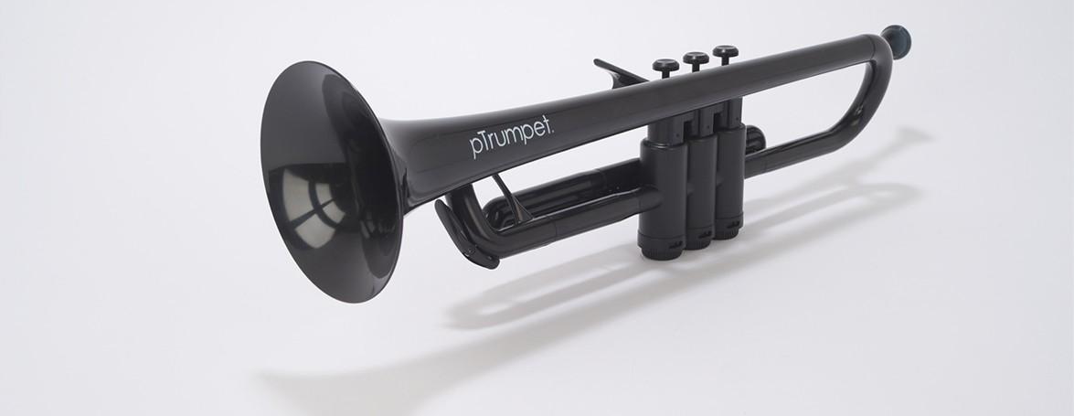 (お取り寄せ)pTrumpet プラスチック製トランペットPTRUMPET1BLK BLACK ブラック キョーリツコーポレーション