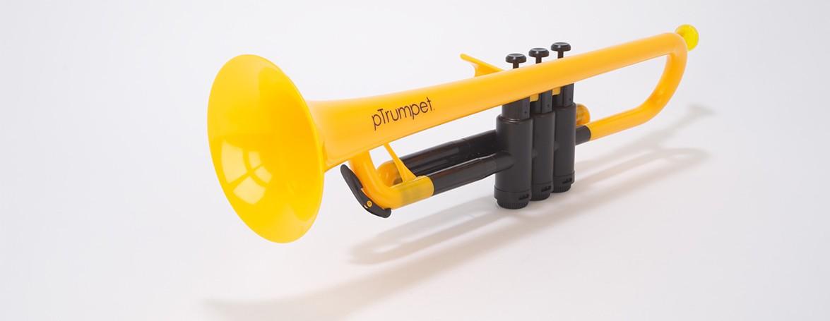 (お取り寄せ)pTrumpet プラスチック製トランペットPTRUMPET1Y YELLOW イエロー キョーリツコーポレーション