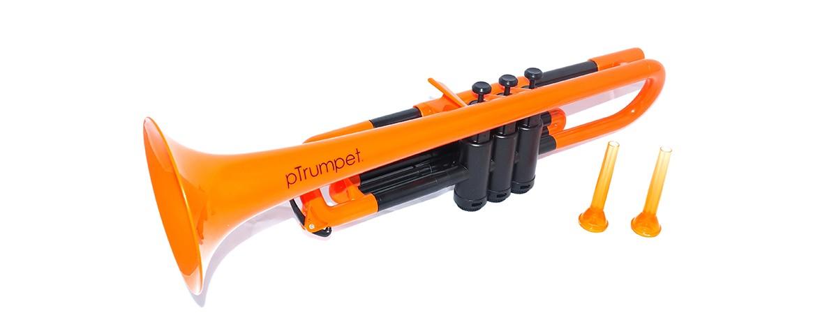 pTrumpet プラスチック製トランペットPTRUMPETOR ORANGE オレンジ キョーリツコーポレーション