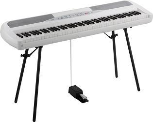 (お取り寄せ)KORG SP-280 WH(SP280WH)コルグ デジタルピアノ*スタンド付属(組立必要)